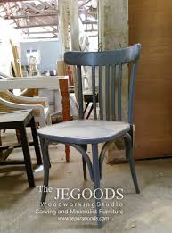 we produce and manufacturing retro scandinavian mid century furniture dining chairs by skilled indonesia craftsman at