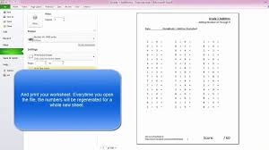 Make Yourn Math Worksheets For Kindergarten Multiplication Free ...