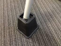 diy standing desk bedriser foot