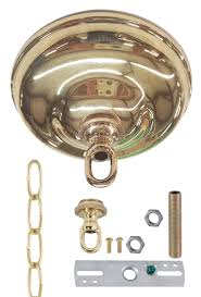x 1 1 2 deep canopy collar loop 3 foot chain crossbar 2 nuts and 2 fixture s nice style for crystal chandeliers
