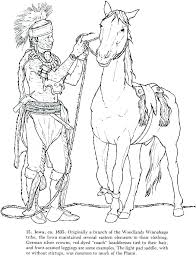 American Coloring Pages Native Coloring Pages Printable Image For