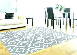 gray and white striped rug area extraordinary large size blue