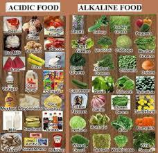 A Big Alkaline Food List