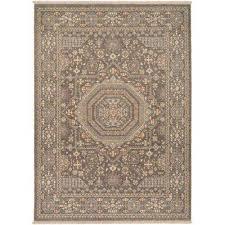 elegance eleanora mocha beige 6 ft x 8 ft area rug