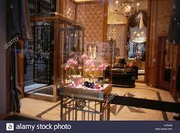 Harry Winston jewelry store Fifth Avenue New York City Stock