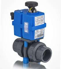 electric ball valve actuators for plastic valves ebv