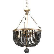 regina andrew design fabian wood bead chandelier