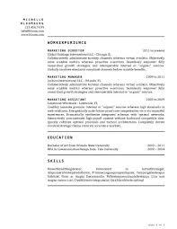 Short Resume Template New 48 Basic Resume Templates