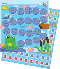 Reward Chart With Stickers Frog Crazy Select Potty Target