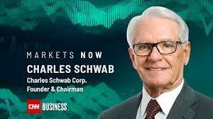 Charles Schwab -- the man -- to talk ...