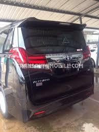 Price Toyota Alphard Petrol V6 Executive Lounge - Toyota Africa ...