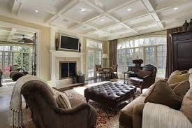 elegant fireplace in family room 47 luxury family room design ideas pictures