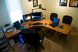 a home office. Want A Shorter Commute To Work? How About Working From Home. Setting Up Home Office Is Good Way Reduce The Amount You Drive. C