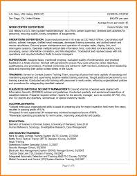 7 Military To Civilian Resume Examples G Unitrecors Retired Samples