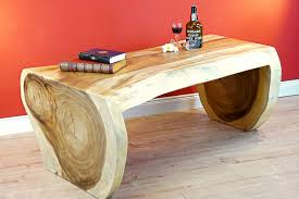 tree trunk coffee table mae hong kinaree