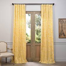 Exclusive Fabrics Zambia Printed Cotton Curtain Panel - Free Shipping Today  - Overstock.com - 17491824