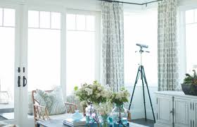 Classic Coastal Living Room Becki Owens Neutral Atmosphere Turquoise ...