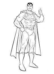 Small Picture Cool Superman Coloring Page Superman Pinterest Colour book