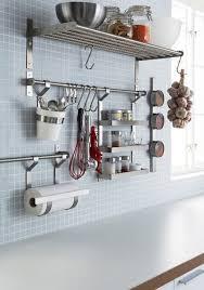 kitchen wall hanging storage design decoration organization and