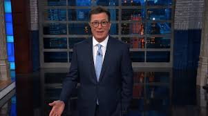 Stephen New Germany The Attacking Trump For Colbert Criticizes UgFUr