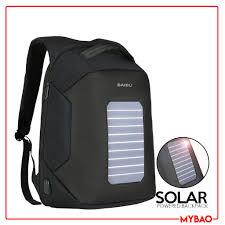 MYBAO <b>BAIBU</b> New Solar USB Charging <b>anti</b> theft <b>Backpack</b> ...
