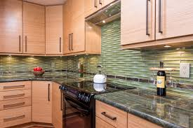 Bamboo Cabinets Kitchen Kitchen With Granite Countertops And Bamboo Cabinets Angies List