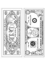 Money Coloring Pages Printable Coloringstar