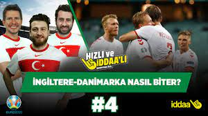 İngiltere-Danimarka maçı nasıl biter? | Uğur K. & Irmak K. & Mustafa D. |  Hızlı ve İddaalı #4 - YouTube