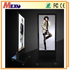 Led Light Box Display Stand China Movable Advertising Lightbox Displays Free Stand LED Light 27