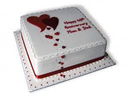 40th Wedding Anniversary Cake Ideas Delicious Cake Recipe