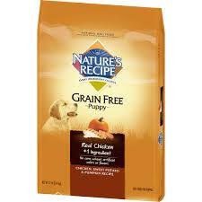 nature s recipe grain free puppy en sweet potato pumpkin recipe dry dog food 12 pound walmart
