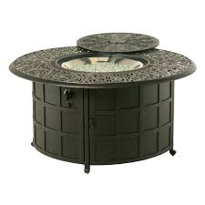 round fire pit table fire pit table and chairs costco uk