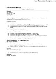 photographer cover letter examples photography assistant cover letter