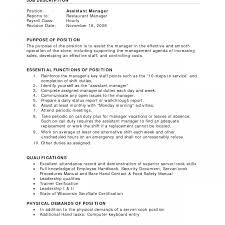 How To Make A Resume For A Restaurant Job How To Write Resume For Restaurant Job Create Make With 91