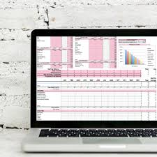Sales Budgets Templates Monthly Budget Sales Page Dollars Plus Sense