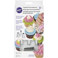 Wilton Cupcake Decorating Icing Tips 12 Piece Set Walmartcom
