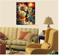 home office colorful girl. aliexpresscom buy handmade rain girl colorful palette knife figure oil painting on canvas modern abstract art home office cafe decoration no frame from e