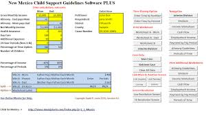 Child Support Calculation Worksheet Free Worksheets Library ...