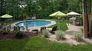 One of many small inground pools ideas