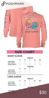 Simply Southern Size Chart 53 Best Simply Southern Images Simply Southern Shirts