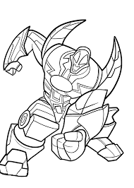 Metanoid Redakai Anime Coloring Pages For