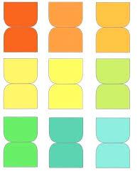 Template Instagram 8 Tab Divider Tabs Printable Printing Graph Paper