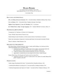 Sample Resume For Makeup Artist
