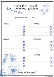 In einen medikationsplan können alle medikamente eingetragen werden, die man benötigt. Wochenplaner Meine To Do S Blumen Blau Wochenplan Zum Ausdrucken Terminplaner Vorlage Planer Vorlagen