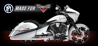 pm made for victory pm custom motorcycle parts news