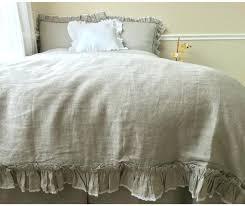 this is linen vintage duvet cover vintage ruffle style duvet cover handmade in natural linen vintage
