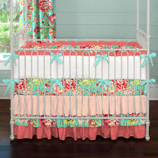 paisley baby crib bedding adorable c and teal fl carousel