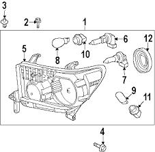 parts com® toyota tundra fuse relay oem parts diagrams 2011 toyota tundra base v8 4 6 liter gas fuse relay