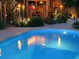 pool landscape lighting ideas. 40 uniquely awesome above ground pools with decks pool landscape lighting ideas