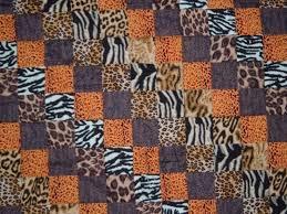 12 best Animal print quilt ideas images on Pinterest   Quilt ... & Animal skin print baby quilt Adamdwight.com